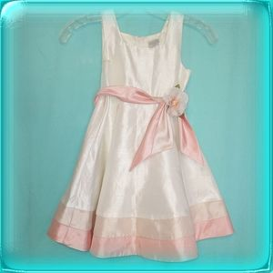 Perfectly Dressed girls three toned dress size 6